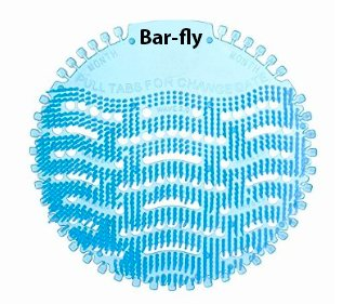 BarFly Top Urinal Screen Deodorizer Cleaner Fresher-Smelling Bathrooms Schools Offices Restaurants