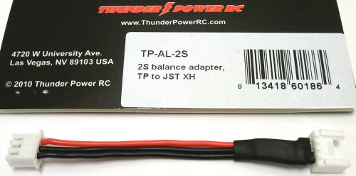 Thunder Power RC 2S Balance Adapter, TP to JST XH
