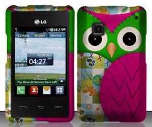 Tracfone LG 840 Pink Giraffe Case