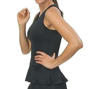 Fila Women's Peplum V-Neck Durable Tennis Comfort Tank at