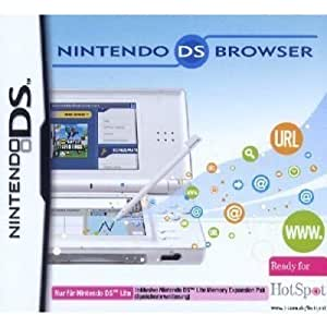 Nintendo DS Lite - Browser inkl. Memory Expansion Pack