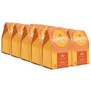 Senseo Rio de Janeiro, Créme de Liqueur & Vanilla, Pack of 8, 8 x 14 Coffee Pods