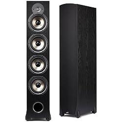 Polk Audio Monitor 75T Four-Way Ported Floorstanding Loudspeaker - Black
