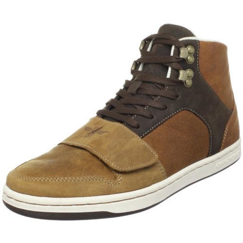 Creative Recreation Men's Cesario High Top Sneaker,Browns,9.5 D US
