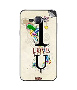 instyler MOBILE STICKER FOR SAMSUNG GALAXY J1 ACE
