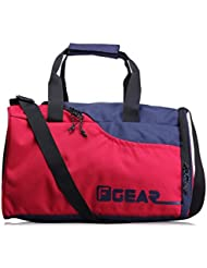 F Gear Jazz Blue Red 30 Liter Small Travel Duffle Bag (Blue Red)