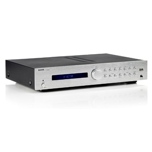 Vieta Audio AM/FM Tuner Amplifier (75w) - Silver