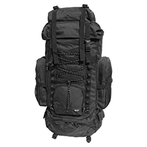 Western Pack Hiking Backpack (Black)