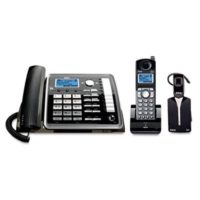 ViSYS-25270RE3-Two-Line-CordedCordless-Phone-System-with-Cordless-Headset