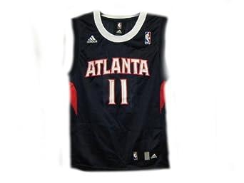 Buy Jamal Crawford Atlanta Hawks Navy NBA Youth Revolution 30 Replica Jersey by adidas
