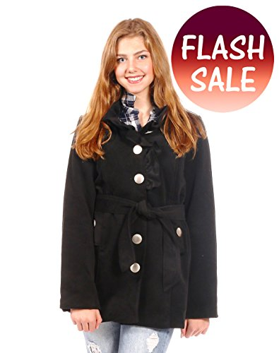 -flash-sale-pretty-simple-womens-ruffle-peacoat