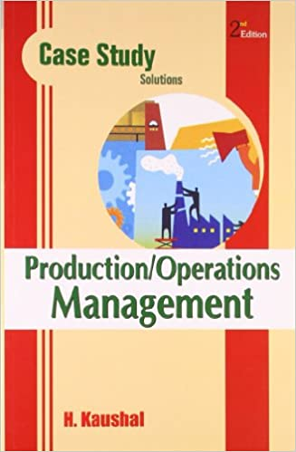 Buy Case Study Solutions  Production Operations Management Book Online at Low Prices in India   Case Study Solutions  Production Operations Management     Amazon in