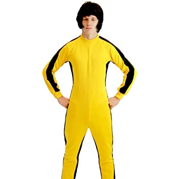 05fce6511 Game of Death Kill Bill Bruce Lee Jumpsuit Costume - Dootburiharpong