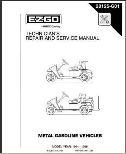 e z go golf equipment rh goldenarrow dr com Ezgo TXT Gas Wiring 1996 ezgo txt electric service manual