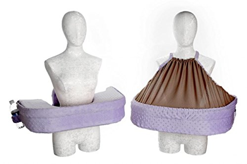 San Diego Bebe Twin Eco Nursing Pillow Lavender - 1
