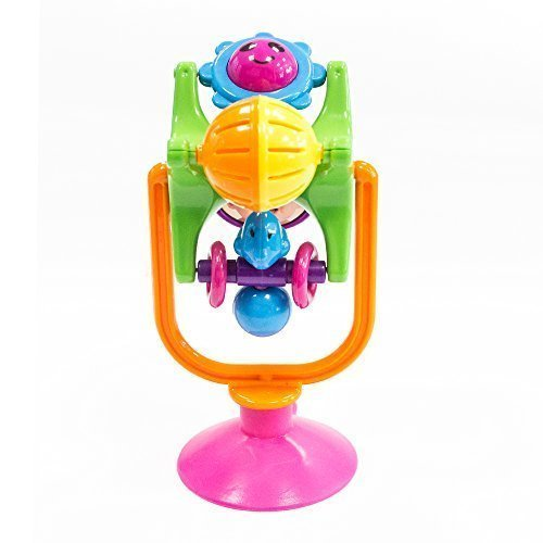 Happytime Twirl and Swirl High Chair Pal Fascination Wheel Suction Toy - 1