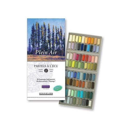 Sennelier ensemble de Pastel secs 1/2 STICKS 80 paysage