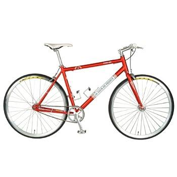 Tour de FranceStage One Vintage Fixie Bike, 700c Wheels,Men's Bike, Red, 45 cm Frame, 51 cm Frame, 56 cm Frame