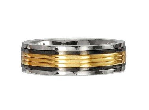 M+Y STEEL Promise Womens Ring