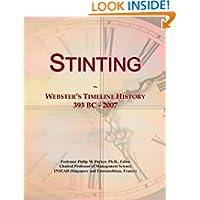 Stinting: Webster's Timeline History, 393 BC - 2007