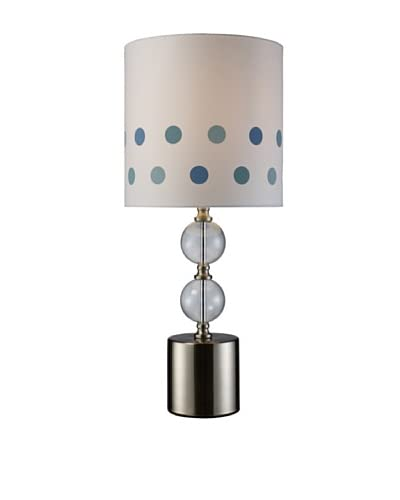 Artistic Lighting Fairfield 1-Light Table Lamp, Chrome
