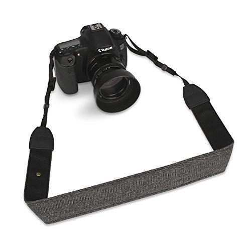 Esddi Camera Shoulder Neck Strap with Bronze Mini Shape Buckle SLR/DSLR Camera straps Neck Shoulder Strap for All DSLR Cameras
