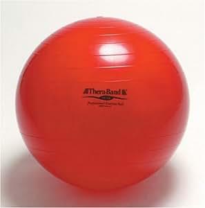 セラバンド エクササイズボール(フィットネスボール) レッド 55cm