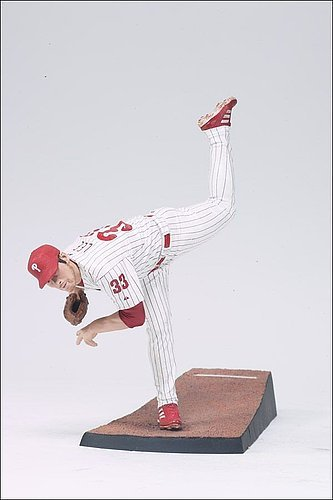 Philadelphia Phillies Cliff Lee McFarlane Figurine - Licensed MLB Baseball Gift