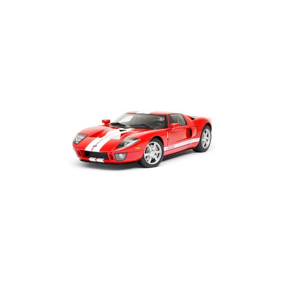 Ford GT Red Diecast Car Model Autoart 112