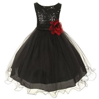 Black Dresses For Kids Kids Dream Black Sequin Double