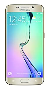 Samsung Galaxy S6 Edge, Gold Platinum 32GB (AT&T)
