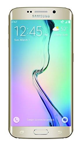 Samsung Galaxy S6 Edge, Gold Platinum 128GB (AT&T)