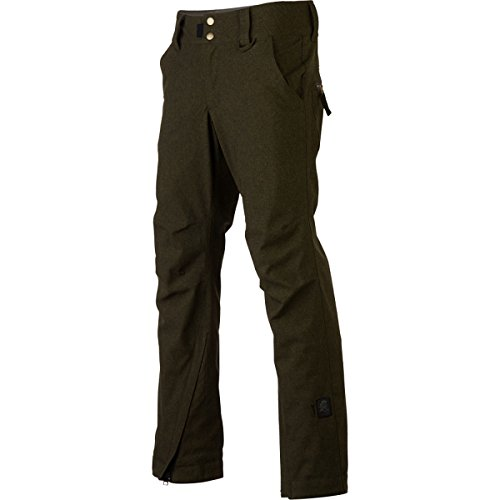 Ride Snowboards Women's Take Over Pant, Canteen Tweed, X-Small