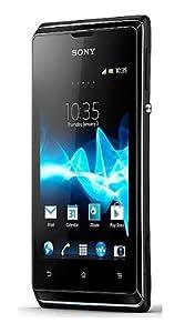 Sony Xperia E C1605 Dual Sim, 3MP, 3G, 4GB, Ice Cram Sandwich Factory Unlocked World Mobile Phone - Black