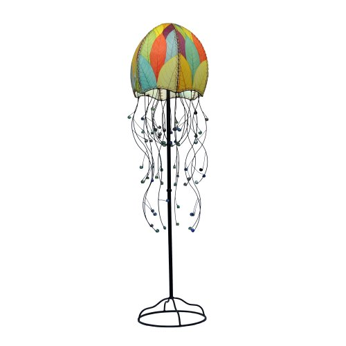 Eangee Jellyfish Series FloorLamp, 67-Inch Tall, Multicolor