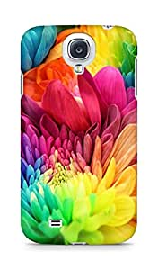 AMEZ designer printed 3d premium high quality back case cover for Samsung Galaxy S4 (colourful spring flowers)