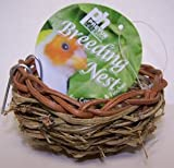 Prevue Pet Products Canary Twig Nest 3in diameter