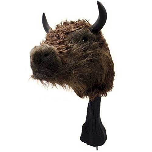 Animal Headcovers by JP Lann (American Bison) (Golf Club Covers Animals compare prices)