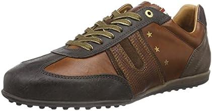 Pantofola d'Oro  SCAFITI LOW MEN, Sneakers basses hommes - Marron - Marron écaille de tortue, Taille 43 EU