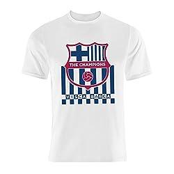 GOL Visca Barca T-Shirt - White (Size - XXL)