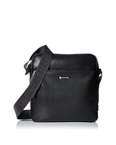 Salvatore Ferragamo Men's San Francisco Small Messenger Bag, Nero