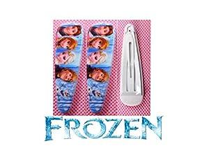 2 barrettes cheveux La reine des neiges Frozen