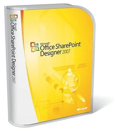 Microsoft Office SharePoint Designer 2007  English