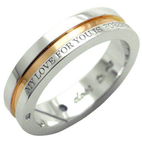 [クローストゥーミー]Close to me リング ブルーダイヤモンド MY LOVE FOR YOU IS FOREVER レディース ピンクゴールド SR14-014PG/13 日本サイズ13号