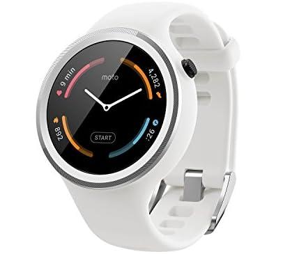 Motorolaスポーツ・フィットネス用 Android Wear スマートウォッチ「Moto 360 Sport」 White [並行輸入品]