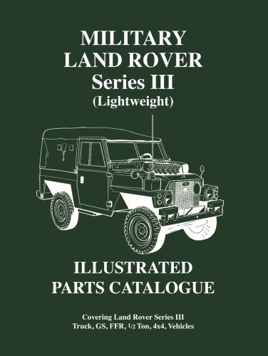 Military Land Rover Serie 3 Lightweight Parts Catalogue (Brooklands Military Vehicles Series)
