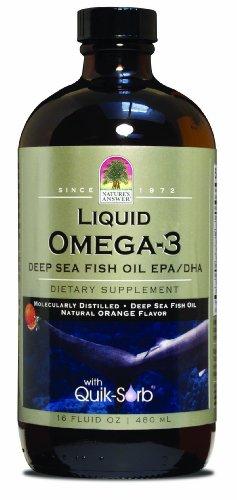 Nature's Answer Liquid-Omega 3-Epa/Dha-Fish Oil - (Platinum Liquid) 16 Ounces