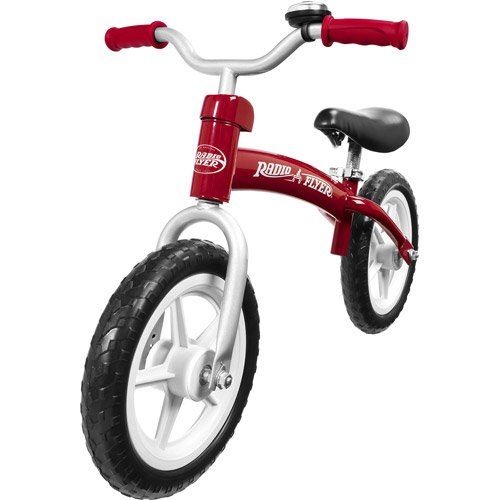 Go Glider Balanc Bike Red Pedal-Free Steel 49 Lbs With Bell Adjustable Seat front-850283