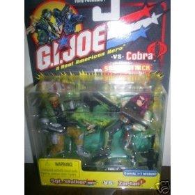 G.I.Joe ARAH Sgt. Stalker vs. Zartan - 1