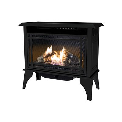 Kozy World GSD2845 Dual Fuel Gas Stove (Wood Stove Propane compare prices)